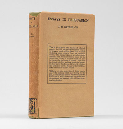 essays in persuasion The general theory of employment, interest and money by john maynard keynes and essays in persuasion by john maynard keynes by keynes, john maynard and a great selection of similar used, new and collectible books available now at abebookscom.