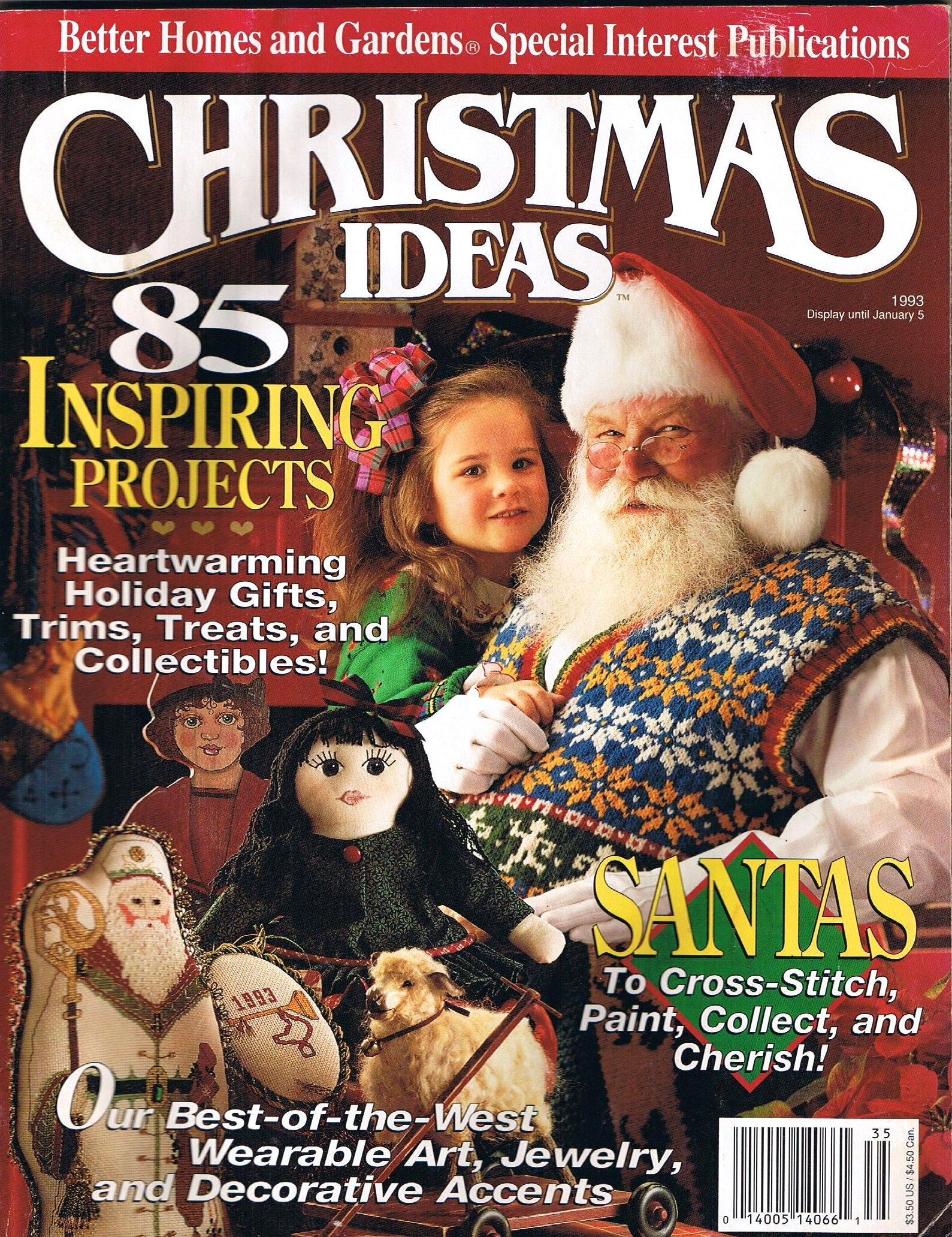 Better Homes And Gardens Creative Ideas Christmas Ideas 85 Inspiring Projects 1993 By Editor