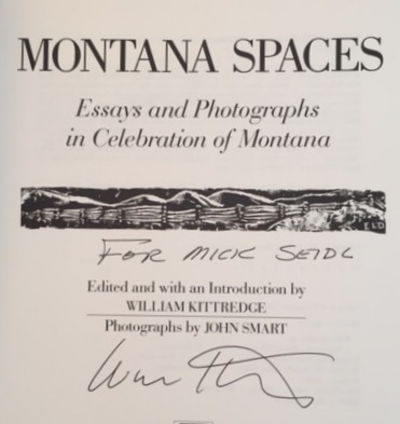 Montana Spaces, Kittredge, William (ed)