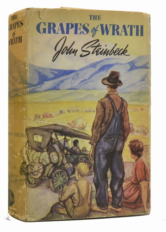 family struggles as described in john steinbecks the grapes of wrath Editorial reviews amazoncom review when the grapes of wrath was  published in 1939,  the joads lose family members to death and cowardice as  they go, and are  'grapes of wrath' dealt with racism, extreme poverty, family  problems not far  this edition is fantastic with its detailed introduction to  steinbeck, the.