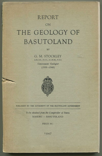Report on the Geology of Basutoland, Stockley, G.M.