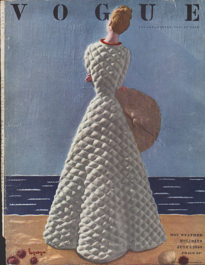 Image for Vogue Magazine, July 1, 1938 - Cover Only
