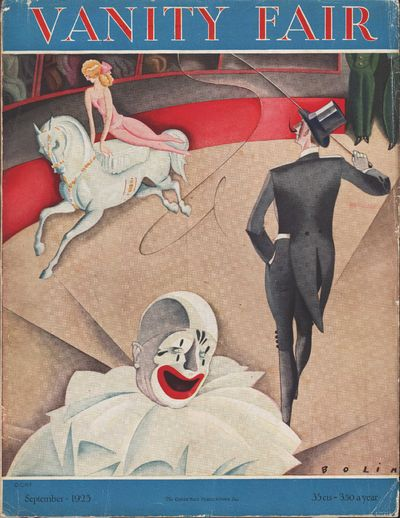 Image for Vanity Fair Magazine, September, 1925