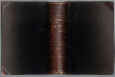 Image for The American Journal of the Medical Sciences Volumes 65 thru 80