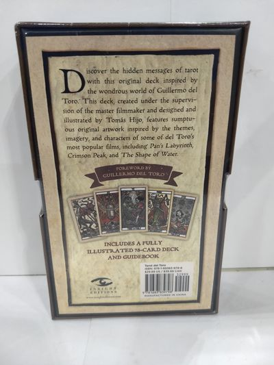 Image for Tarot del Toro: A Tarot Deck and Guidebook Inspired by the World of Guillermo del Toro
