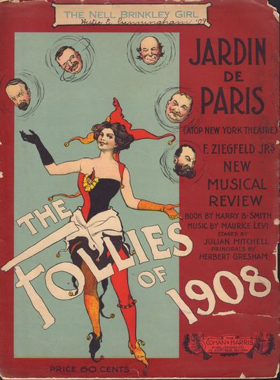 Image for The Follies of 1908 The Nell Brinkley Girl