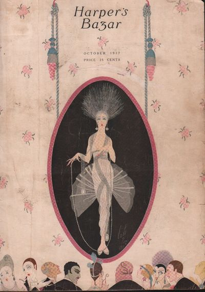 Image for Harper's Bazar (Harper's Bazaar). October 1917 - Cover Only