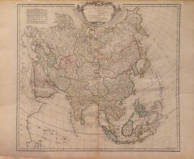 Image for Carte de l'Asie dressee sur les relations les plus nouvelles,  principalement fur les cartes de Russie, de la Chine, et de la Tatarie  Chinoise; et divisee en ses empires et royaumes, par le Sr. Robert de  Vaugondy, fils de Mr. Robert Geogr. ordin. du Roy. Avec Privilege. 1751.