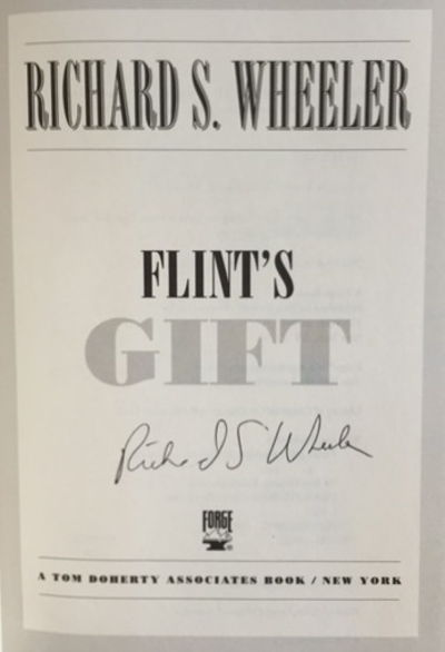 Image for Flint's Gift (Silver City Sentinel)