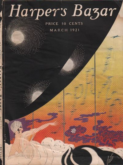 Image for Harper's Bazar (Harper's Bazaar). March 1921 - Cover Only