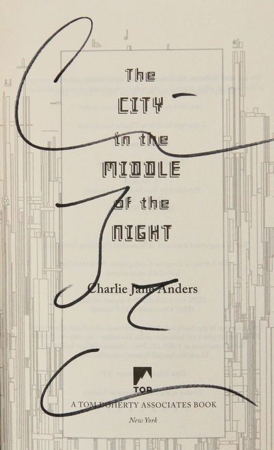 Image for The City in the Middle of the Night (Signed)