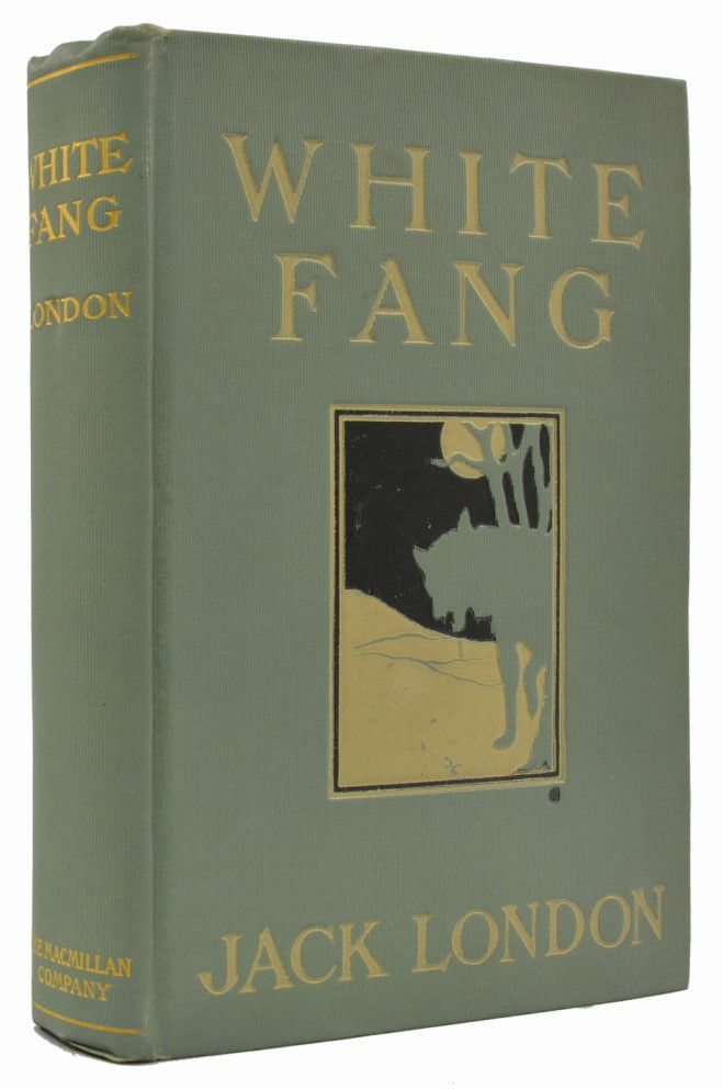 White Fang Book Cover : White fang by jack london first edition from