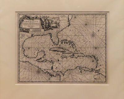 Image for Iles de l'Amerique situees dans l'Ocean Septentrional avec toutes leurs Cotes, Bayes, et Ports, suivant les Relations