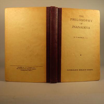 Image for The Philosophy of Jnanadeva. Presentation copy.