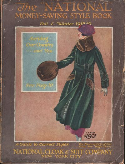 """Image for The """"National"""" Money Saving Style Book, July 1918 Fall & Winter 1918-1919"""
