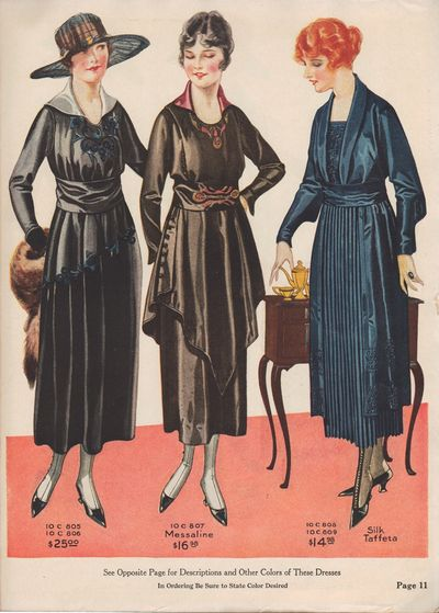 "Image for The ""National"" Money Saving Style Book, July 1918 Fall & Winter 1918-1919"