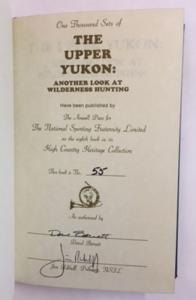 The Upper Yukon: Another Look at Wilderness Hunting, Barnett, David