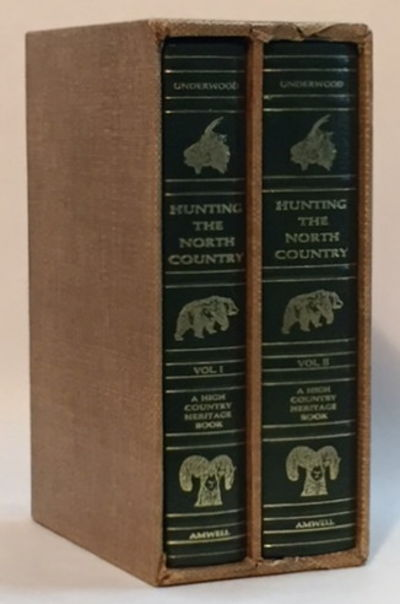 Hunting the North Country (2 Volumes), Underwood, Lamar