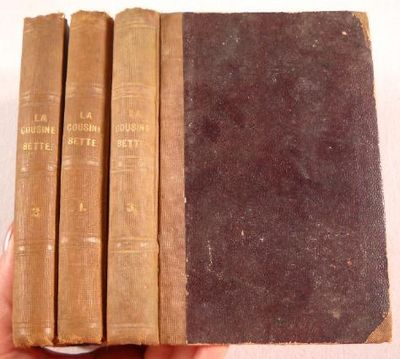 La Cousine Bette.  In Three Volumes, Balzac, Honore De