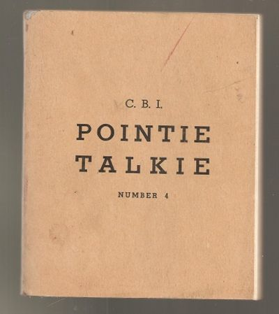 C.B. I. Pointie Talkie No. 4