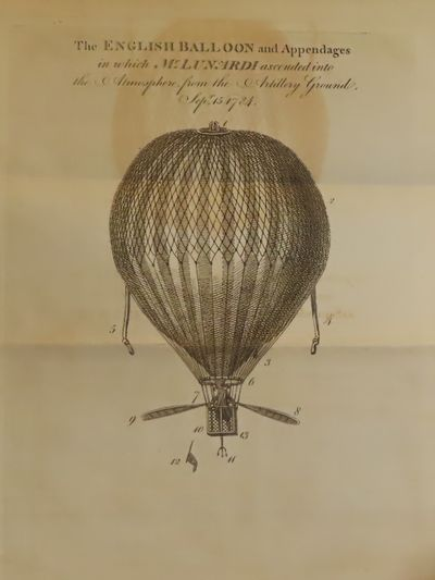 Image for An Account of the First Aerial Voyage in England, in a Series of Letters  to His Guardian, Chevalier Gherardo Compagni. Written  under the Impressions of the various Events that affected the Undertaking.  Signed by Lunardi.