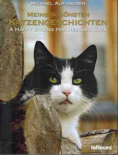 A Happy Ending for Rescued Cats (English and German Edition)