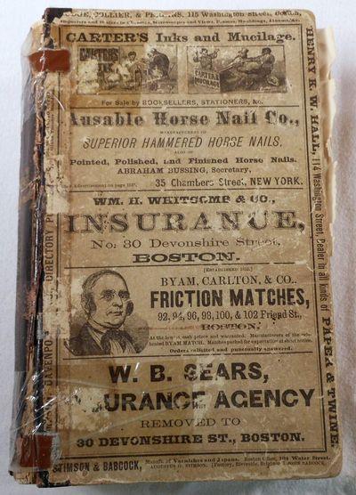 The New England Business Directory 1873, Sampson, Davenport & Co.