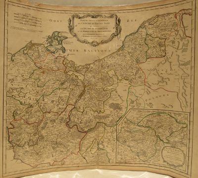 Partie Septentrionale du Cercle de Haute Saxe qui contient Le Duche de  Pomeranie et le Marquisat de Brandebourg