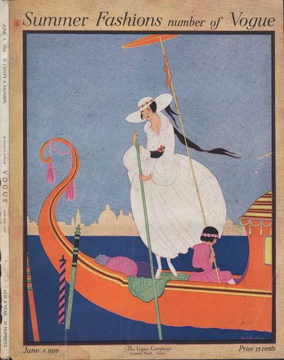 Image for Vogue Magazine. June 1, 1916 - Cover Only Summer Fashions number of Vogue