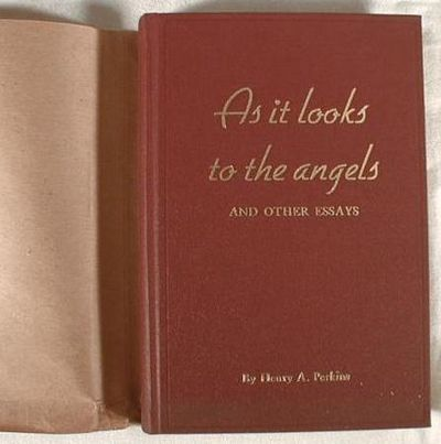 Image for As It Looks to the Angels and Other Essays