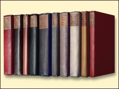 The Works of Max Beerbohm 10 Volumes, Beerbohm, Max