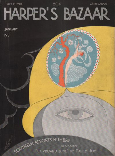 Image for Harper's Bazaar Magazine Cover  January, 1931 (Cover only)