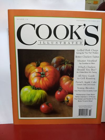 Image for Cook's Illustrated Number 118, September/October 2012