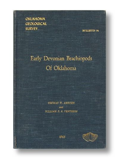 Early Devonian Brachiopods of Oklahoma   Oklahoma Geological Survey  Bulletin #94, Amsden, Thomas W.