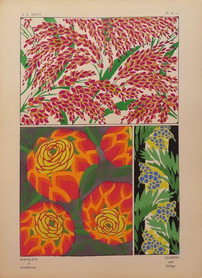 Image for Bouquets et frondaisons, Pl. no. 15