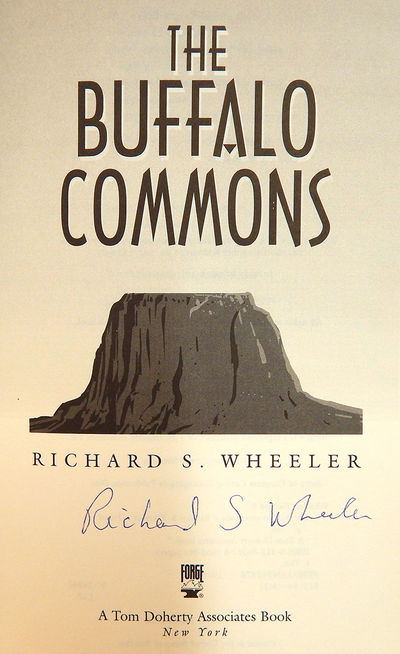 The Buffalo Commons, Wheeler, Richard S