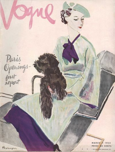 Image for Vogue Magazine  March 1 1935