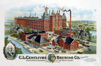 [CHROMOLITHOGRAPH]_C_L_Centlivre_Brewing_Co_Incorporated_Brewers_Bottlers_of_Lager_Beer_Fort_Wayne_Indiana