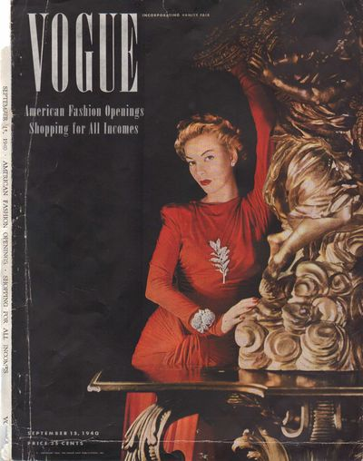 Image for Vogue Magazine, September 15, 1940 - Cover Only