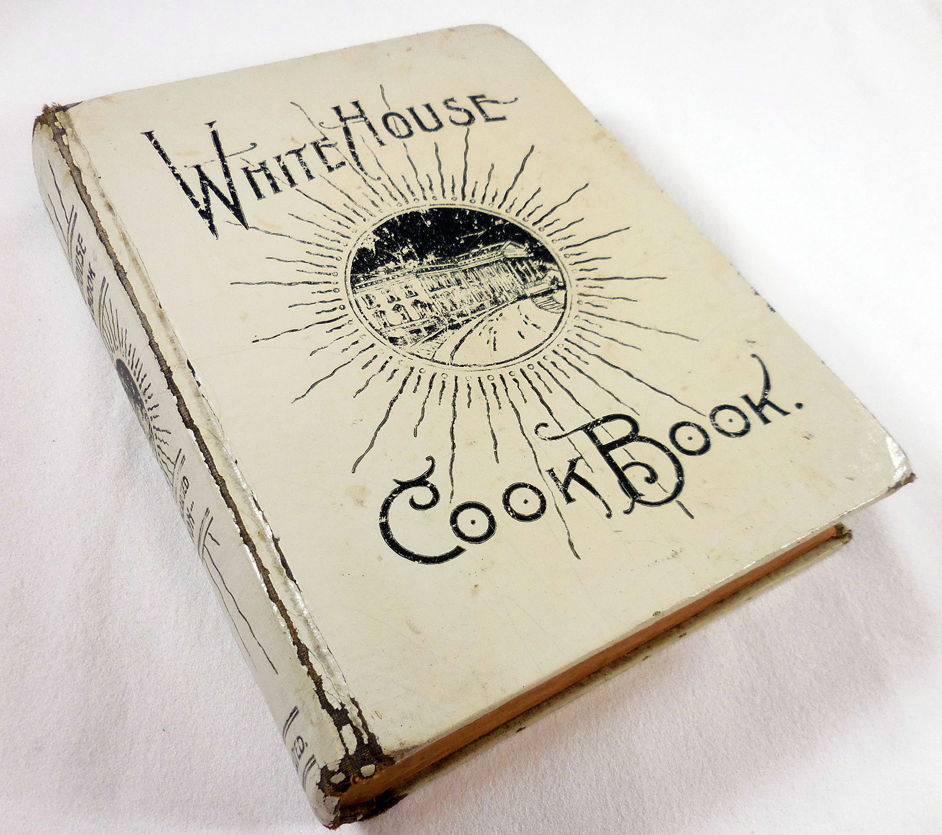 Image for The White House Cook Book: A Comprehensive Cyclopedia of Information for the Home