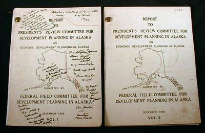 Image for Report to President's Review Committee for Development Planning in Alaska on Economic Development Planning in Alaska.  In Two Volumes