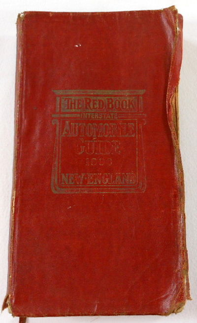 "The ""Red Book"" Fourth Year: Interstate Automobile Guide. New England 1908, Automobile Red Book. F. S. Blanchard & Company"