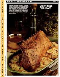 McCall's Cooking School Recipe Card (Meat 29 - Roast Pork Boulanger) (Replacement Recipage / Recipe Card for 3-Ring Binders) Marianne Langan and Lucy Wing