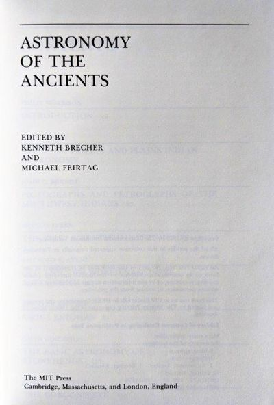 Image for Astronomy of the Ancients.