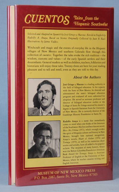 Image for Cuentos: Tales from the Hispanic Southwest (Signed X2) Bilingual Stories in Spanish and English