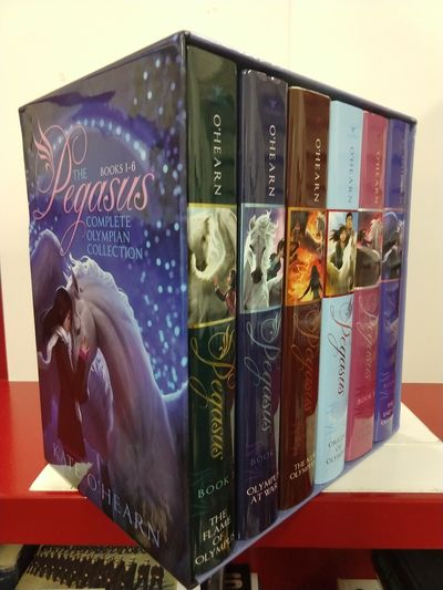 Image for The Pegasus Complete Olympian Collection: the Flame of Olympus; Olympus at War; the New Olympians; O