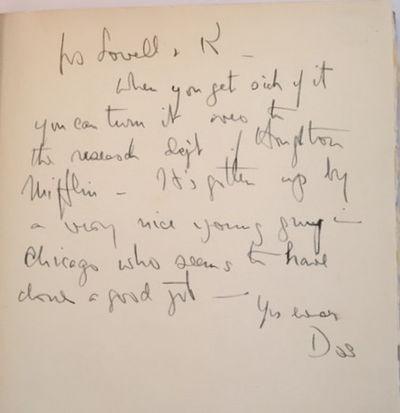 A Bibliography of John Dos Passos, Potter, Jack, [John Dos Passos]