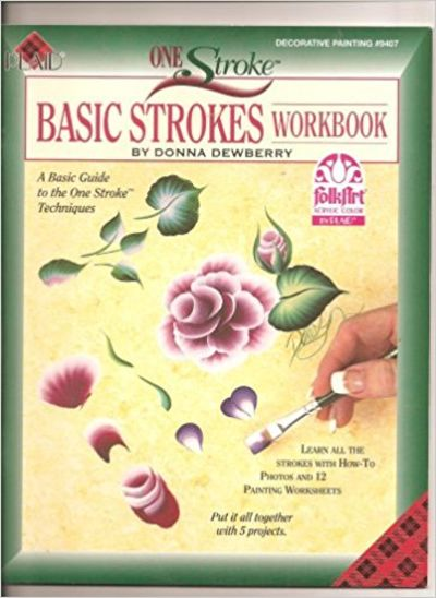 Image for One Stroke Basic Strokes Workbook #9407