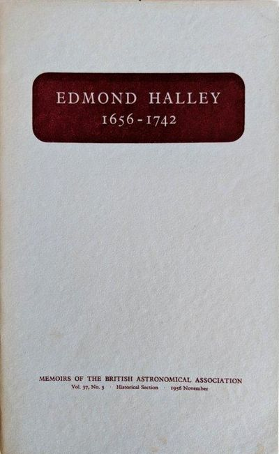 Image for Edmond Halley 1656-1742; Papers to commemorate the tercentenary of his birth.