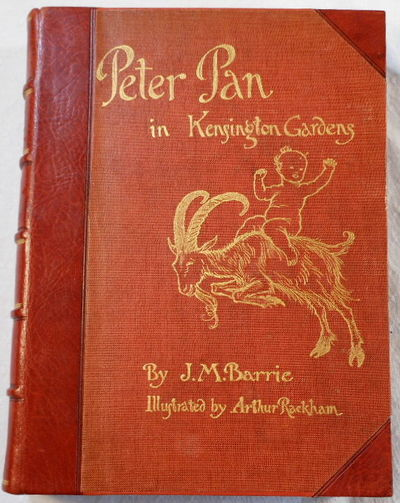 Peter Pan in Kensington Gardens (From 'The Little White Bird'). Extra-Illustrated, Barrie, J. M.  Illustrated By Arthur Rackham